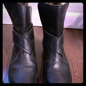 Fly London wedge boots. Size 37